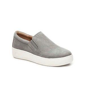 Steve Madden Genette Perforated Suede Sneakers